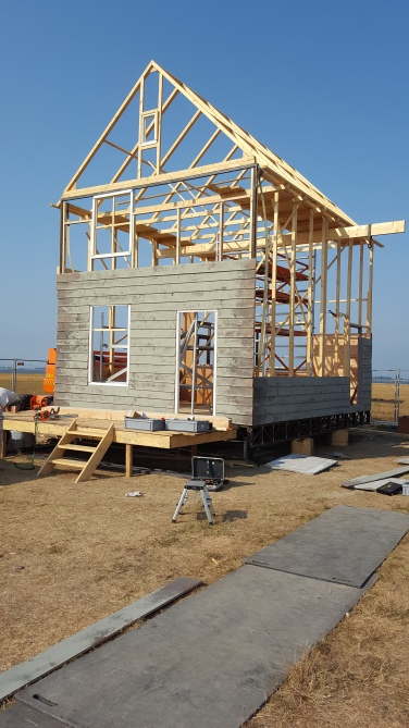 De opbouw is in volle gang
